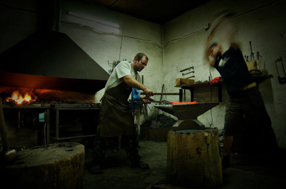 atelier fierărie conacul Petre Carp Țibănești