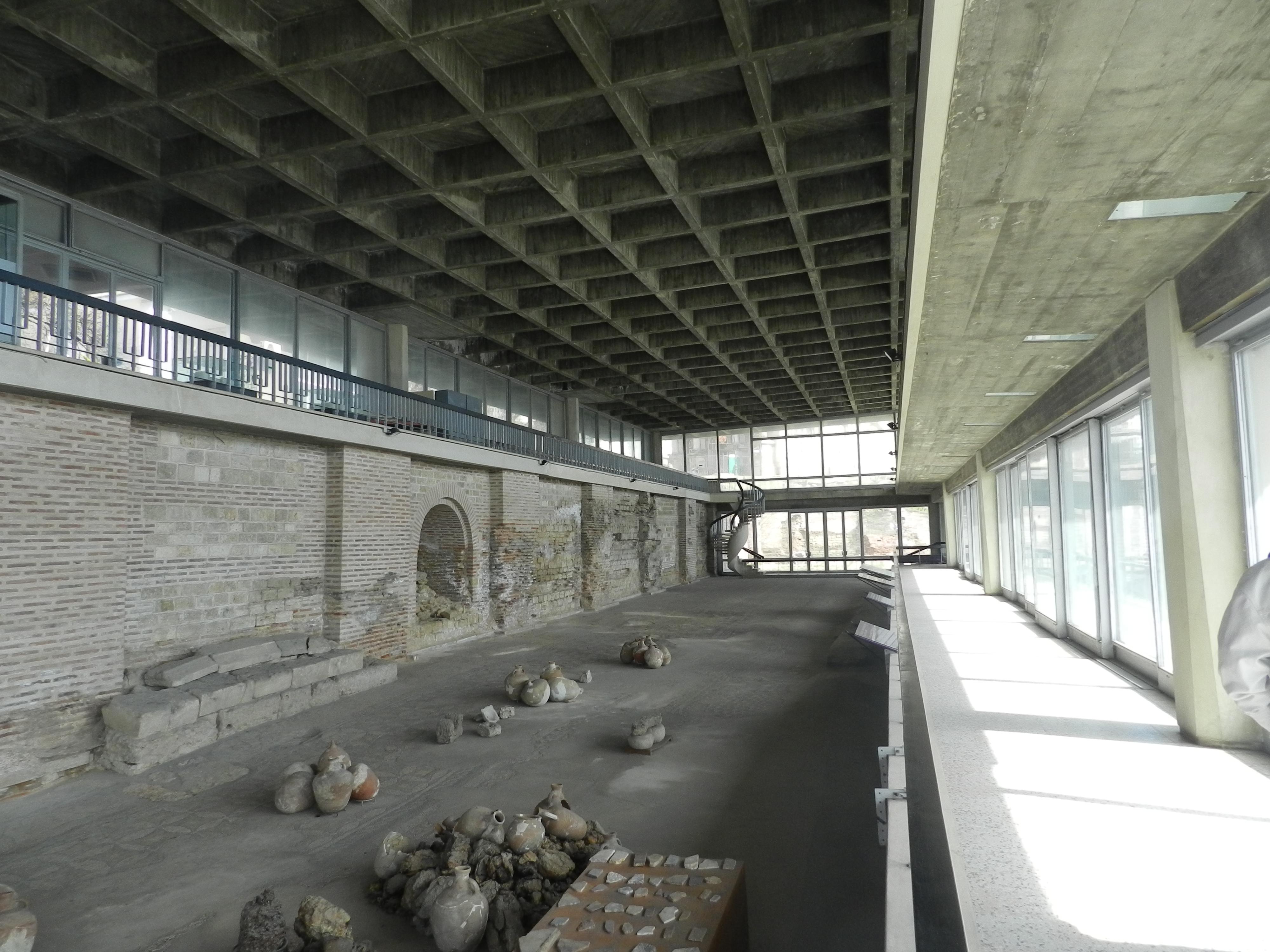 Constanța: Edificiul Roman cu Mozaic, monument din secolele II-IV,  este aproape de prăbușire. Consiliul Județean Constanța speră că va fi salvat cu fonduri europene 2