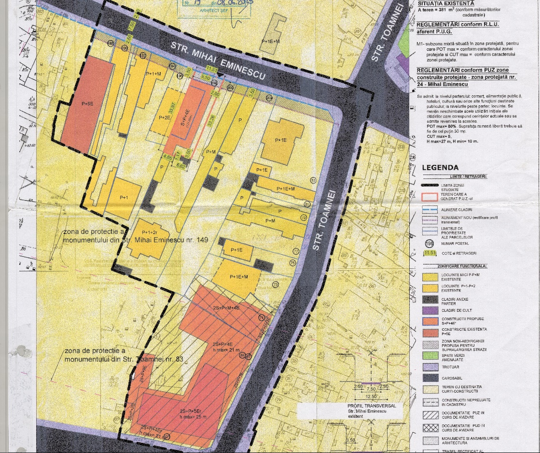 Un bloc cu patru etaje ar putea apărea în zona protejată Mihai Eminescu, vizavi de casa Henrieta Delavrancea, monument istoric. Cum a fost distrusă zona în ultimii 15 ani 1