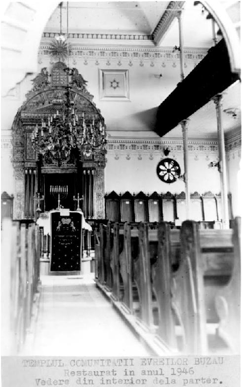 VIDEO – FOTO Sinagoga din Buzău, monument istoric de o frumusețe rară, la un pas de prăbușire 8